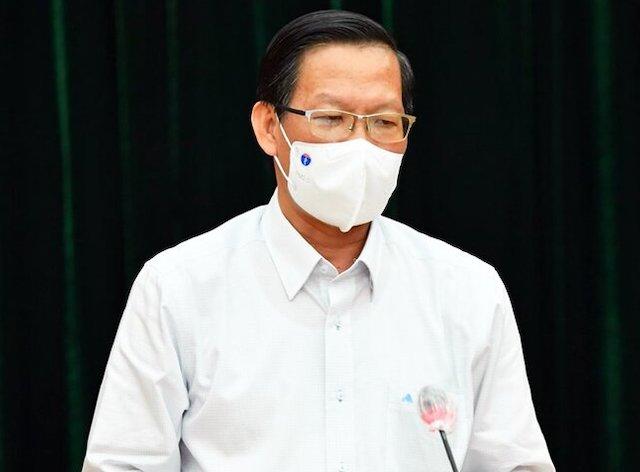 Phó Bí thư thường trực Thành ủy TP HCM Phan Văn Mãi.