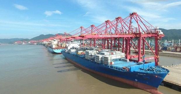 Cảng biển Ninh Ba-Chu San, Trung Quốc.(Nguồn: The Logistician)