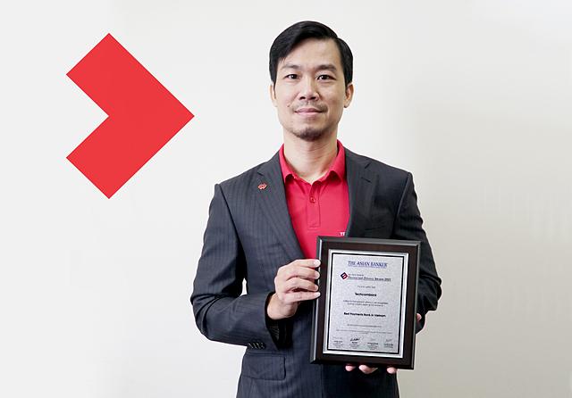 Ông Phan Thanh Sơn, Phó Tổng giám đốc Techcombank, Giám đốc Khối Ngân hàng Giao dịch toàn cầu