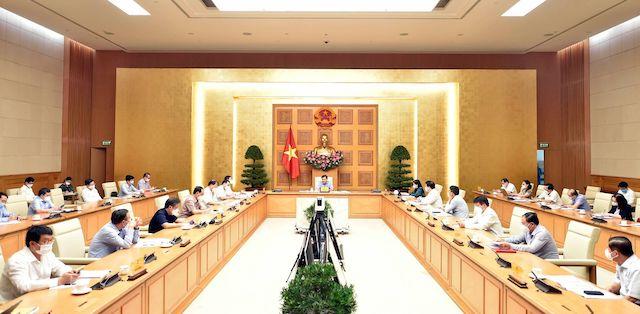 Phó Thủ tướng Lê Minh Khái chủ trì họp Ban Chỉ đạo điều hành giá. Ảnh: Báo Chính phủ.