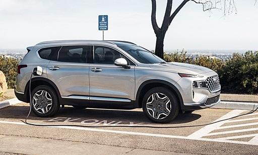 Hyundai Santa Fe 2022 có thêm phiên bản PHEV tiết kiệm