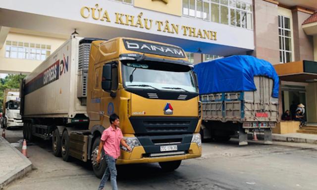 Cửa khẩu Tân Thanh hoạt động trở lại
