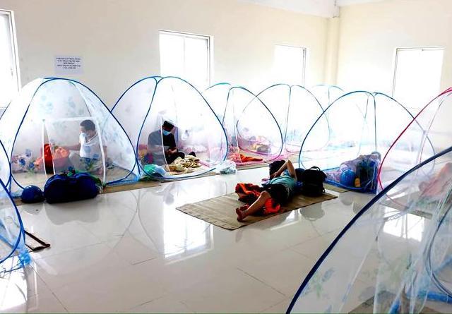 Quảng Ngãi: Doanh nghiệp khu kinh tế Dung Quất chuẩn bị phương án 3 tại chỗ