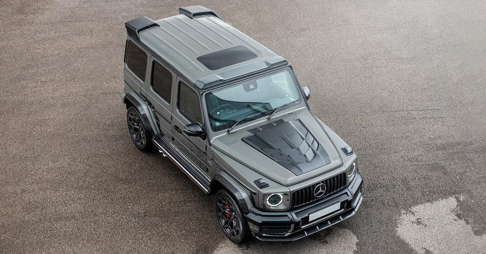 Mercedes-Benz G-Class với gói độ carbon có giá hơn 300.000 USD