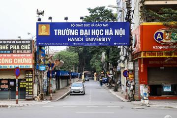 Mở rộng gấp đôi đường vào trường Đại Học Hà Nội