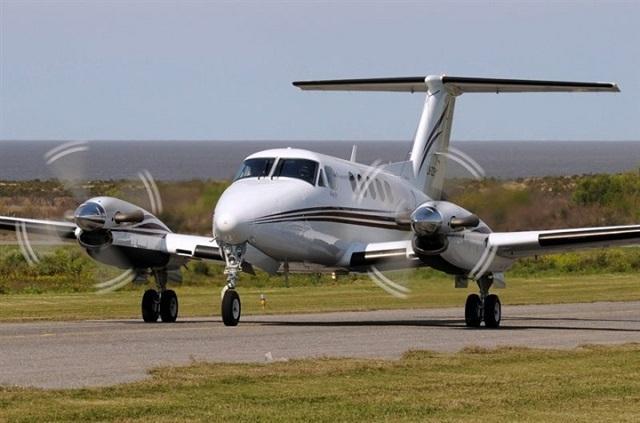 Globaltrans Air dự định khai thác bằng máy bay King Air 200.Ảnh: Platinum Aviation