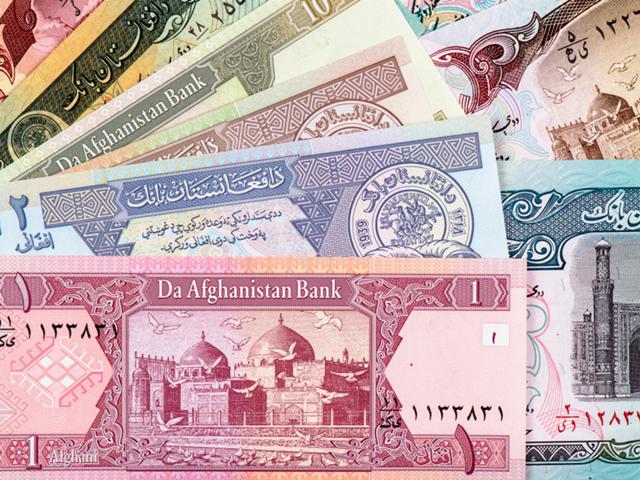 Đồng tiền của Afghanistan giảm xuống thấp kỷ lục