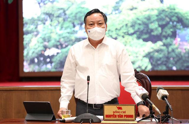 Phó Bí thư Thành ủy Nguyễn Văn Phong.