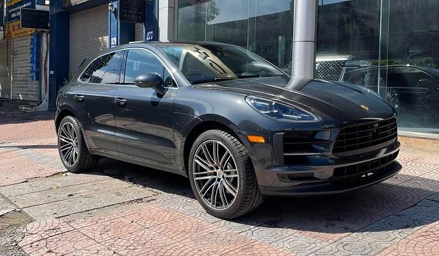 Porsche Macan S nhập từ Mỹ có ngoại hình không khác biệt so với bản nhập chính hãng