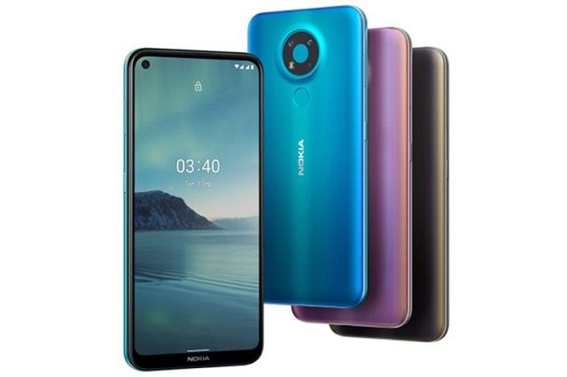Nokia 3.4 tại Việt Nam bắt đầu 'lên đời' Android 11