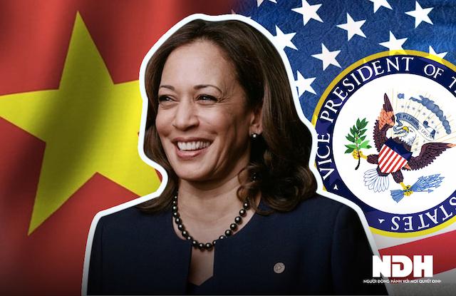 Phó Tổng thống Mỹ Kamala Harris.