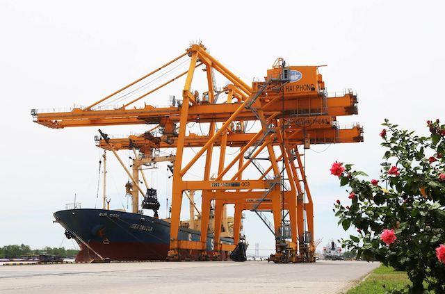 Cảng Hải Phòng ứng phó với dịch Covid-19 trong trường hợp bị phong tỏa.