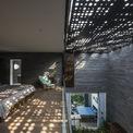 <p> Phòng ngủ hướng ra khoảng thông tầng, lấy ánh sáng tự nhiên vào bên trong.</p>