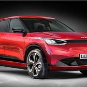 Kia EV4 - crossover điện lộ diện