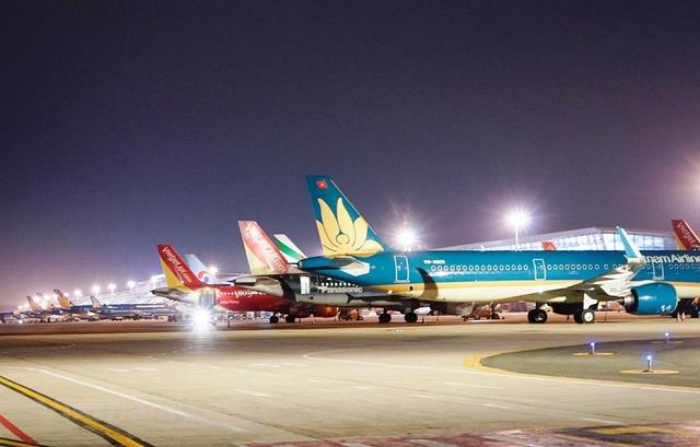 Tháng ảm đạm nhất của hàng không Việt kể từ đầu dịch Covid-19