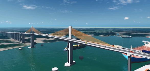 Đề xuất thẩm định dự án cầu Phước An vượt sông Thị Vải gần 4.900 tỷ đồng