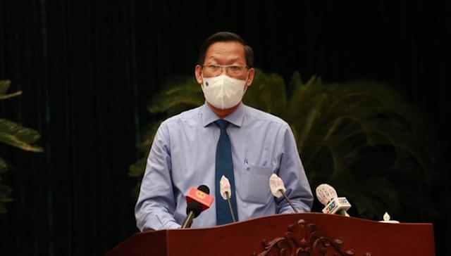 Tân Chủ tịch UBND TP HCM Phan Văn Mãi.