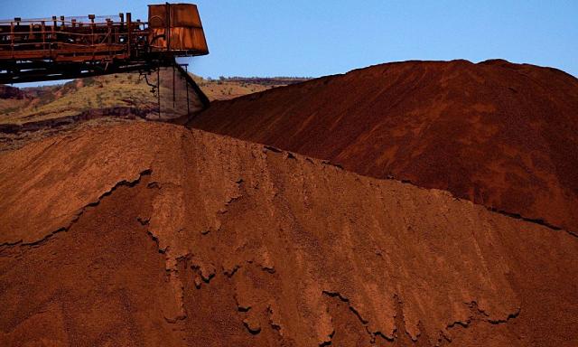 Giá quặng sắt tăng 7% sau khi 'lao dốc không phanh'
