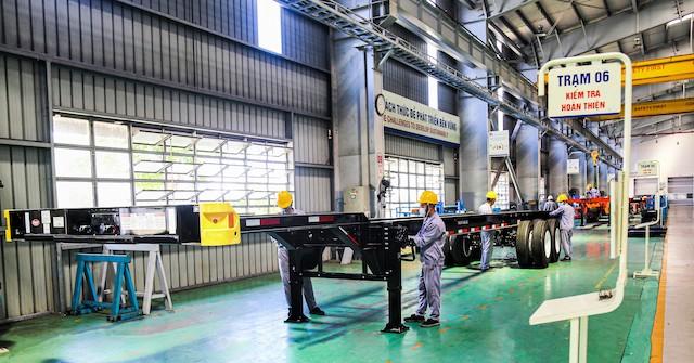 Thaco Auto ký kết xuất khẩu hơn 6.000 sơmi, rơmoóc sang Mỹ