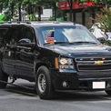 """<p class=""""Normal""""> Trên lý thuyết, độ an toàn của chiếc SUV này tương đương với The Beast khi sở hữu kính chống đạn, thân xe gia cường thép, lốp runflat, hệ thống điện thoại vệ tinh, tác chiến điện tử.</p>"""