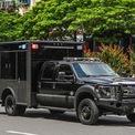 """<p class=""""Normal""""> Trong trường hợp đoàn xe bị tấn công, lực lượng phản ứng nhanh trên xe này có nhiệm vụ chống trả và mở đường cho đoàn xe.</p>"""