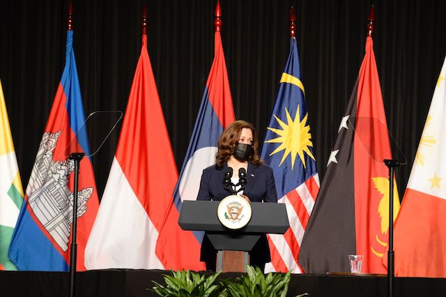 Phó Tổng thống Kamala D. Harris khai