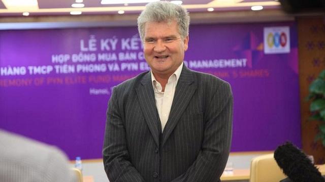 Ông Petri Deryng - người quản lý quỹ Pyn Elite Fund. Ảnh: VnEconomy