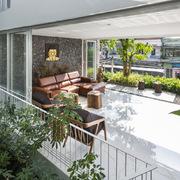 Nhà ở Nha Trang trồng nhiều rau xanh, rau thơm tự nhiên