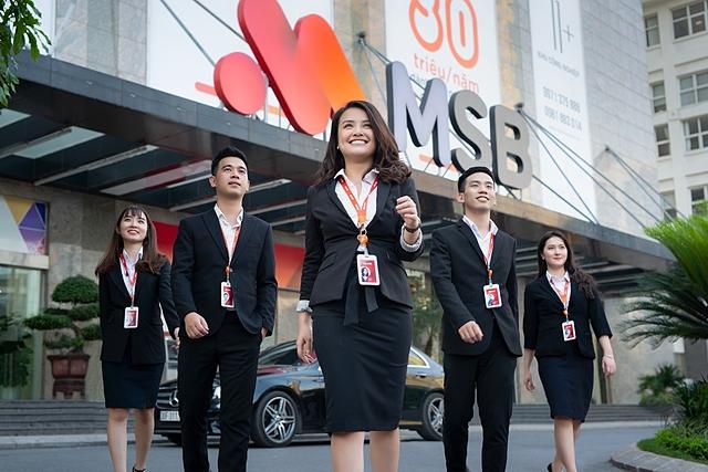 Ngân hàng sẽ có thêm nguồn vốn từ việc bán các công ty con. Ảnh: MSB.