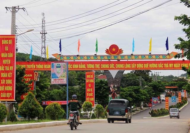 Thị trấn Trà My, huyện