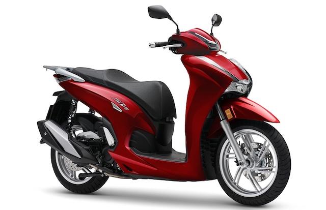 Giá Honda SH 350i lắp ráp tại Việt Nam bằng một nửa bản nhập khẩu.