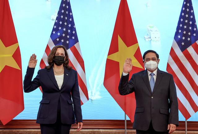Mỹ phát thông điệp tăng cường quan hệ đối tác toàn diện với Việt Nam