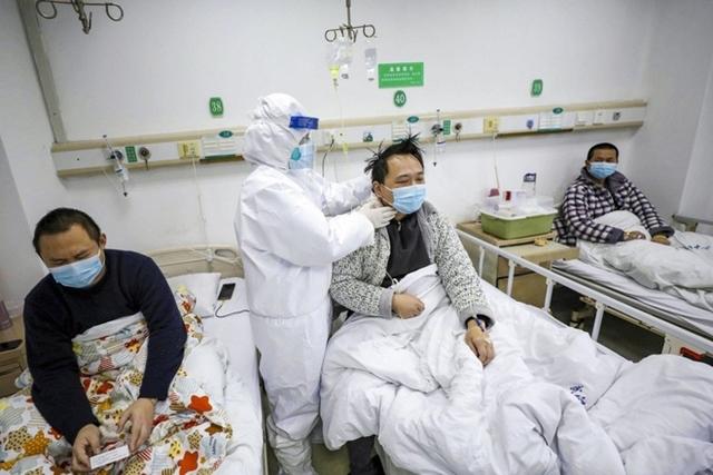 Nghiên cứu được tiến hành trên khoảng 1.200 bệnh nhân xuất viện ở Vũ Hán, trong thời gian từ tháng 1 đến tháng 5/2020. Ảnh: AP.