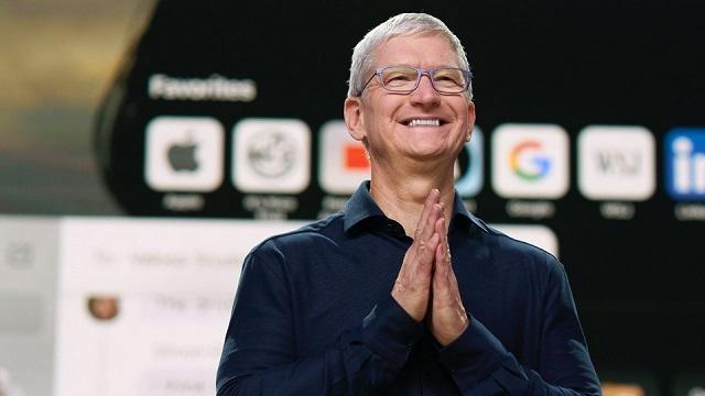 CEO Tim Cook vừa 'bỏ túi' 750 triệu USD nhờ bán cổ phiếu thưởng của Apple