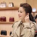 <p> Trước Fendi, Triệu Vy từng làm gương mặt đại diện cho Burberry Trung Quốc. Đây là hình ảnh tinh tế và sang trọng trong trang phục của hãng tại lễ khai trương cửa hàng Burberry ở Thượng Hải. Ảnh:<em>zhaoweiofficial / Instagram</em></p>