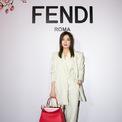 <p> Triệu Vy theo đuổi phong cách menswear trong sự kiện của hãng thời trang cô làm đại diện. Ảnh: <em>Sina</em></p>