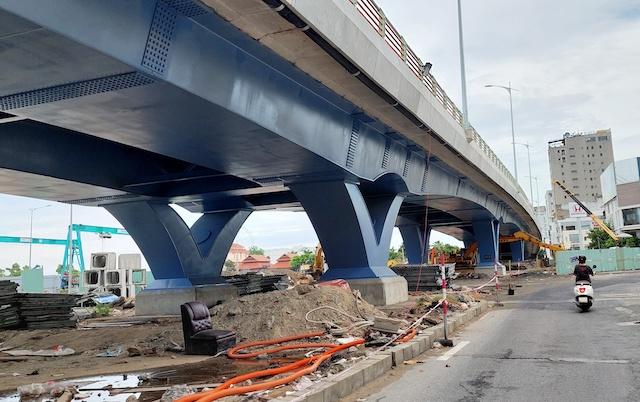 ông trình cải tạo nút giao thông phía tây cầu Trần Thị Lý là 1 trong 25 công trình được Đà Nẵng
