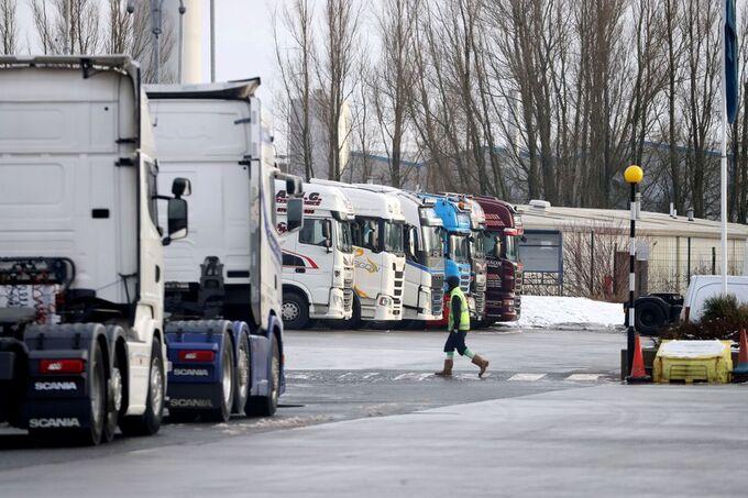 Cung ứng thực phẩm ở Anh căng thẳng vì thiếu tài xế xe tải