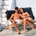 <p> Siêu sao bóng đá Cristiano Ronaldo và bạn gái GeorginaRodriguez trong một chuyến nghỉ dưỡng gia đình. Ảnh:<em>Instagram nhân vật</em></p>