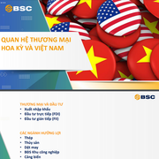 BSC: Quan hệ thương mại và đầu tư của Hoa Kỳ và Việt Nam