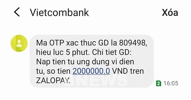 Các ngân hàng đang sử dụng dịch vụ SMS Brandname của các doanh nghiệp viễn thông