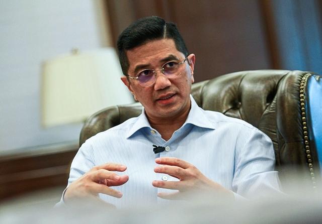 Bộ trưởng Thương mại Quốc tế và Công nghiệp Malaysia Datuk Seri Mohamed Azmin Ali. Ảnh: The Star.
