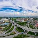 <p> Cầu vượt và nút giao thông trung tâm quận Long Biên dài 800 m, được khởi công ngày 6/5/2014, thông xe kỹ thuật tháng 1/2016. Công trình được xây dựng theo hình thức hợp đồng BT, có tổng mức đầu tư 2.847 tỷ đồng. Dự án có hạng mục chính là cầu vượt qua vòng xuyến gồm 6 làn xe, vận tốc thiết kế 80km/h. Công trình có ý nghĩa quan trọng trong việc kết nối giao thông các tuyến cửa ngõ phía Bắc thủ đô với quốc lộ 5, đường 5 kéo dài; giảm tải ùn tắc và tai nạn giao thông ở khu vực này. <em>Ảnh: Đức Anh</em></p>