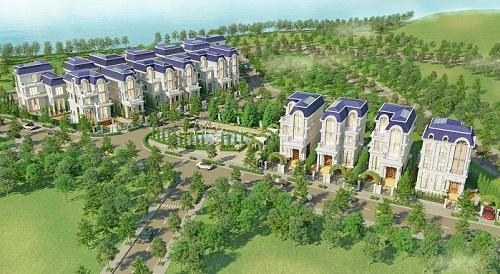 King Crown Village có 17 biệt thự dành cho giới thượng lưu. Ảnh: Tracodi