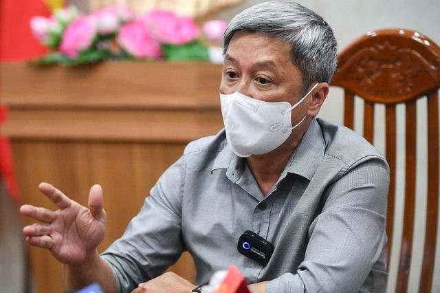 Thứ trưởng Bộ Y tế Nguyễn Trường Sơn cho biết sẽ sớm gửi thử kêu gọi F0 khỏi bệnh tham gia hỗ trợ. Ảnh: Zing