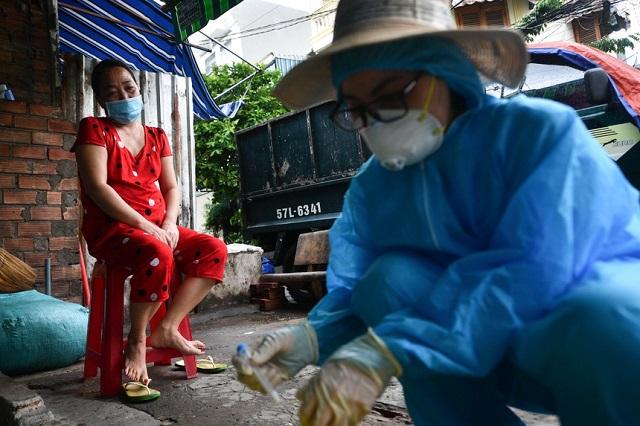 F0 đã khỏi bệnh là những người an toàn nhất trong môi trường có SARS-CoV-2. Ảnh minh họa: Zing