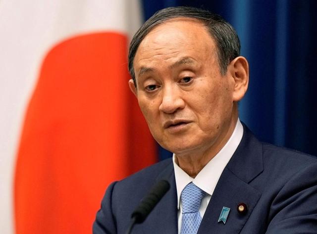 Thủ tướng Nhật Bản Yoshihide Suga sẽ sớm từ chức. Ảnh: Reuters.