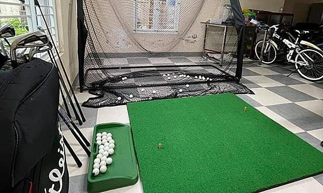 'Lên đồ' chơi golf tại gia