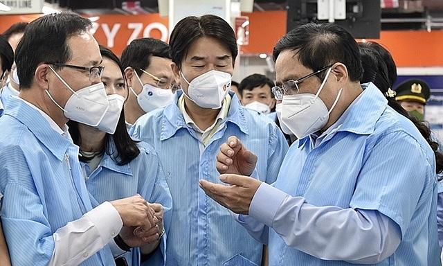 Thủ tướng: 'Việt Nam sẽ không phụ lòng tin của doanh nghiệp FDI'