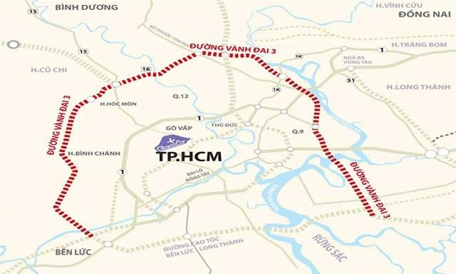 Vành đai 3 TP HCM chờ phản hồi từ Bình Dương và Đồng Nai